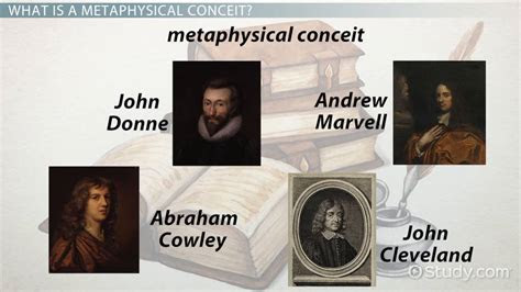 metaphysical conceit definition examples video