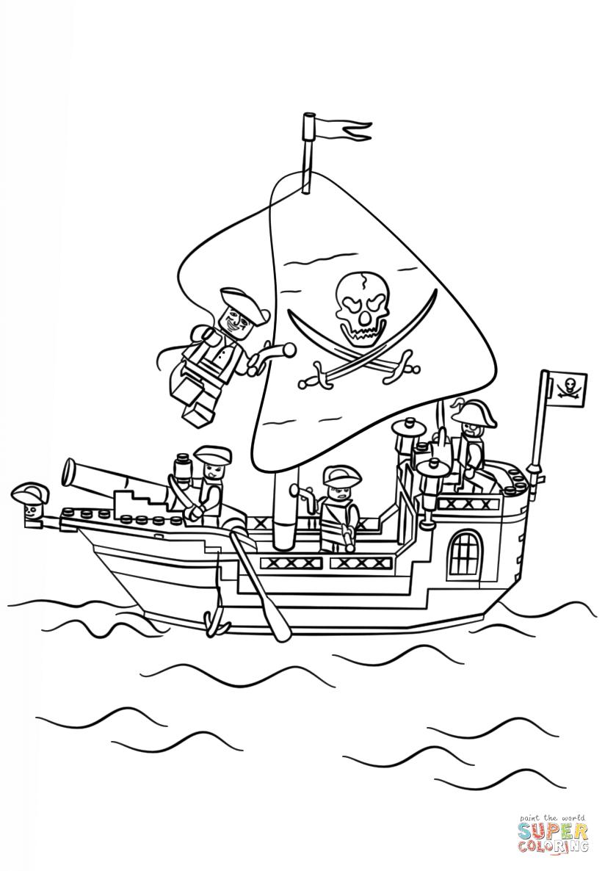 Klick das Bild Lego Piratenschiff