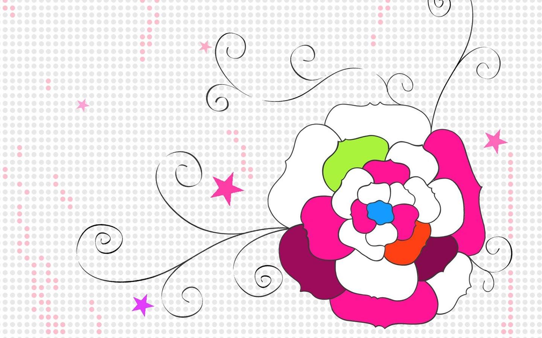 花の壁紙イラストデザイン 13 1440x900 壁紙ダウンロード 花の壁紙