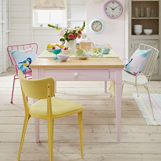 Pastel dining room | PHOTO GALLERY | Country Homes and Interiors | Housetohome.co.uk