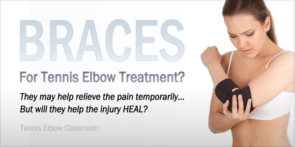 Tennis Elbow Braces For Healing Or Pain Relief?
