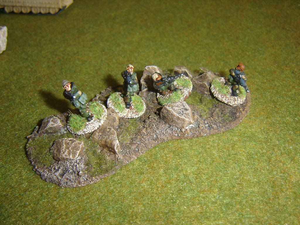 SAS Fire Team take up position