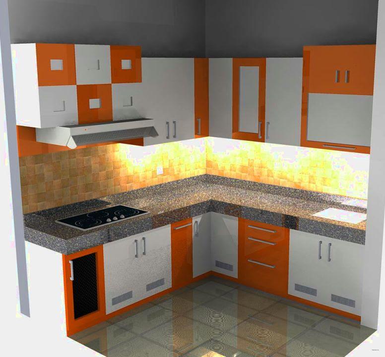 Kumpulan Gambar Desain Kitchen Set Minimalis Untuk Rumah Modern
