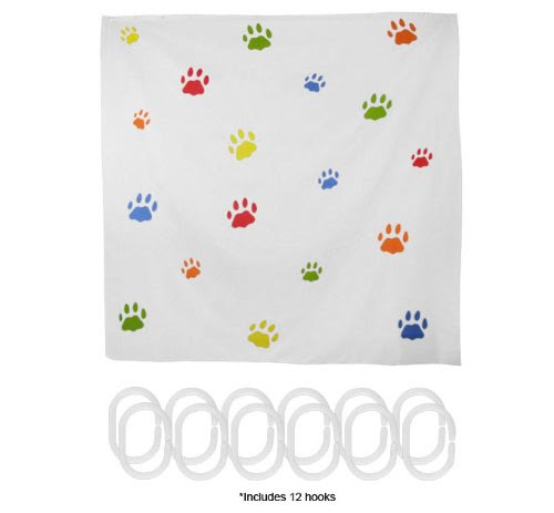 BUY $$$ Paws Galore Shower Curtain » Shop Shower Curtain in ...