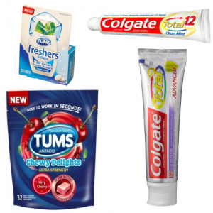 Free Samples Colgate and Tums Products