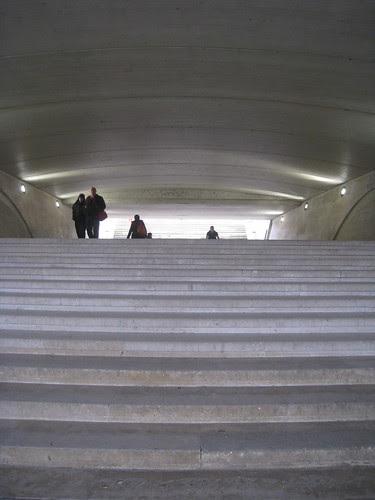Underbridge at Tuileries