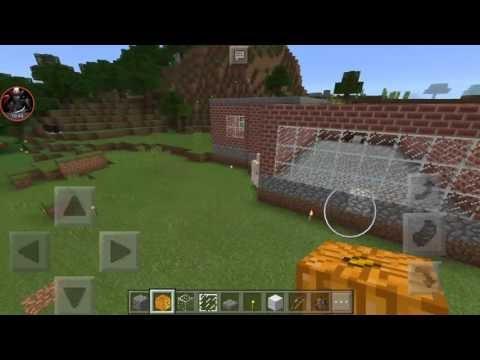 Demir Golem Yaptım - Minecraft PE #8
