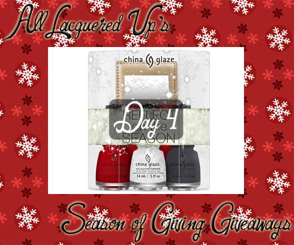 ALU Giveaways 2014 - China Glaze Holiday 2014 Gift Set via @alllacqueredup