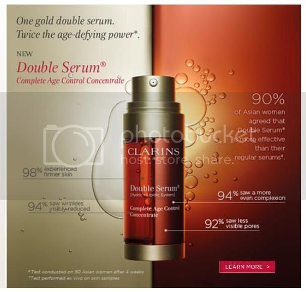 Sleepy Beauty Clarins 7 Day Trial Supply Of Double Serum