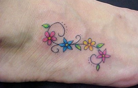 Small Flower Design Tattoos Tattoos Designs Ideas