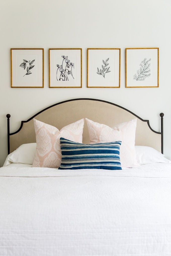 Ideas For Bedroom Art Wall Decor images