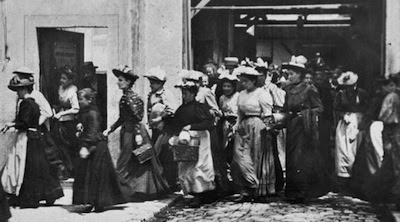 Workers Leaving The Lumiere Factory