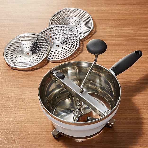 OXO ® Good Grips Food Mill   Crate and Barrel