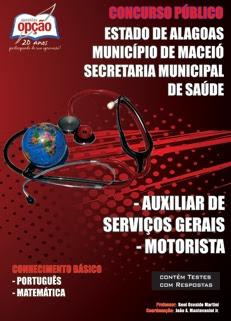 Prefeitura de Maceio-AL-AUXILIAR DE SERVIÇOS GERAIS / MOTORISTA