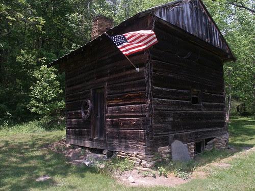 John Lanning's cabin (by Bill in Ash Vegas)