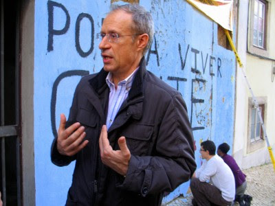 """O Bloco apresentou, esta segunda-feira, uma das suas """"prioridades"""" para o Orçamento - um plano de investimentos públicos em requalificação urbana. Foto Paulete Matos"""