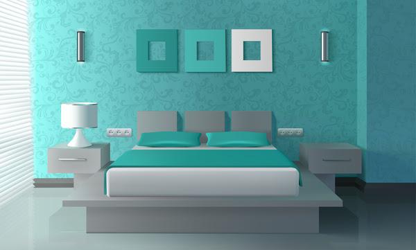 Bedroom interior design vector 01 Vector Other free download - Isometric Bathroom Interior Design Vector Free Download