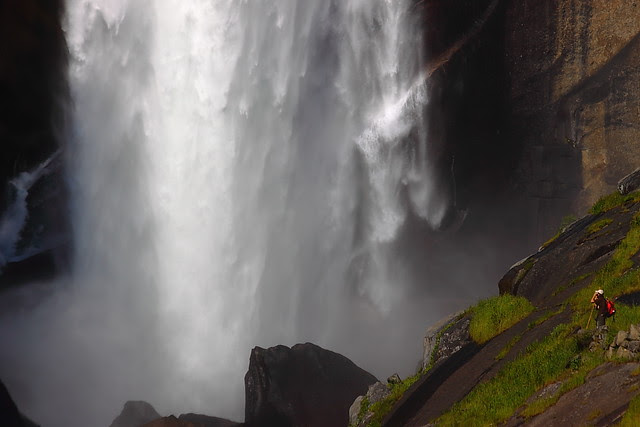 IMG_1566 Hiker Enjoying Vernal Falls, Yosemite National Park