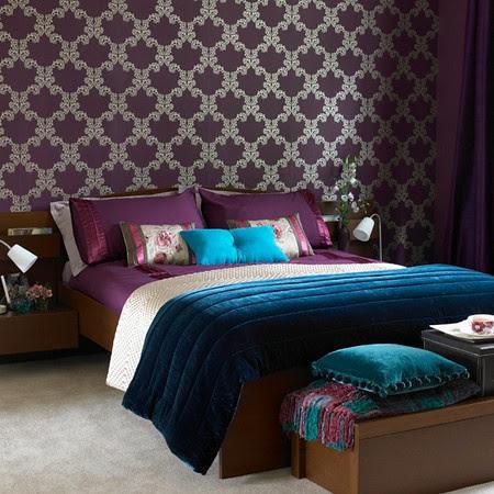 Luscious Purple Bedroom Designs for Modern Interiors - Minimalisti.