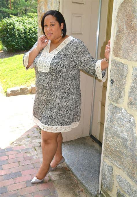 Black & White Tunic Dress   Style Linkup