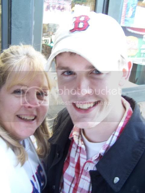 Corey and I 2009