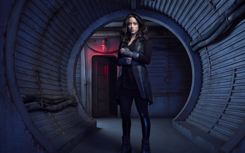Chloe Bennet As Daisy Johnson Agents Of Shield Season 5 Wallpapers