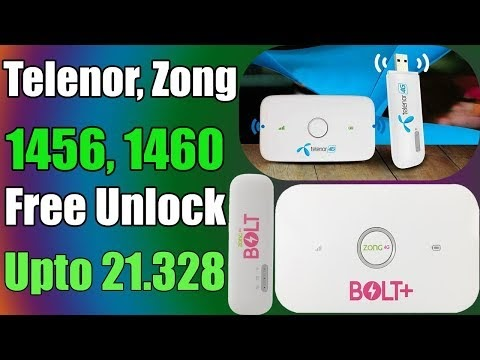Free Unlock Telenor, Zong E5573Cs, E8372h 21.328 Without Open