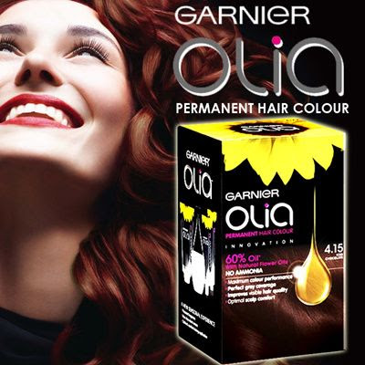 Olia Permanent Hair Colour with 60% Natural Flower ...