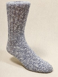Denim Wool Boot Socks