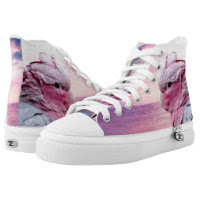 Parrots  Zipz High Top Sneakers, Printed Shoes