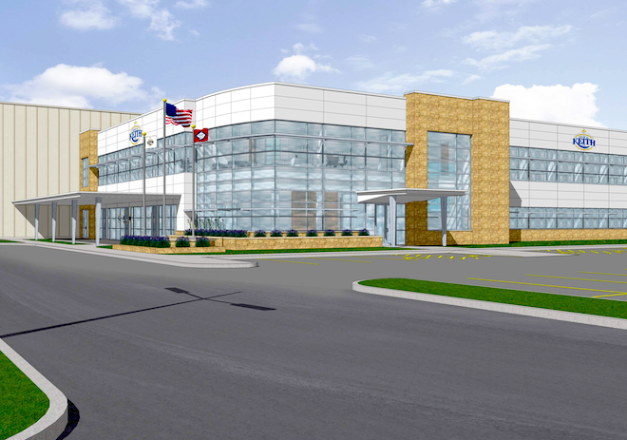 Ben E. Keith Breaks Ground on $70M North Little Rock ...