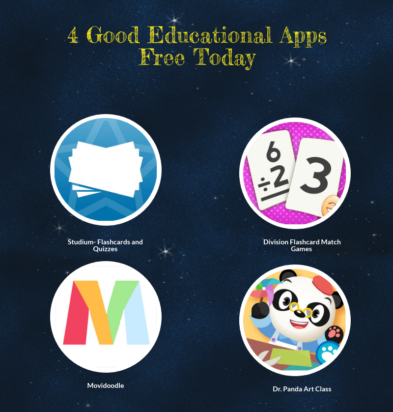 4 Good Educational Apps Free Today