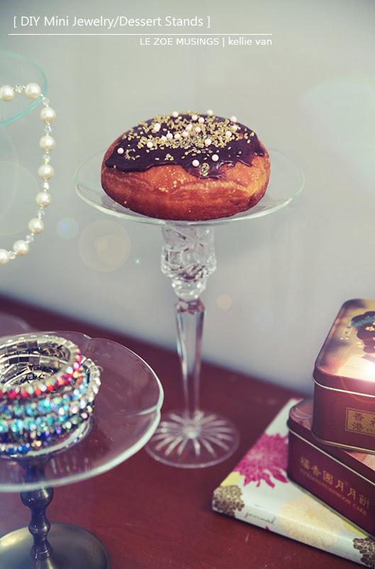 DIY Mini Jewelry/Dessert Stands | Folly Bloom