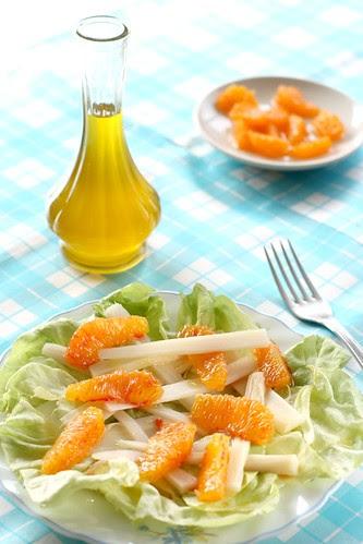 oranges hearts of palm salad