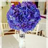 Beach Wedding Flower Centerpieces
