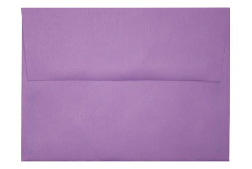 A6 Envelopes (4 3/4 x 6 1/2) - Bright Violet (50 Qty.)