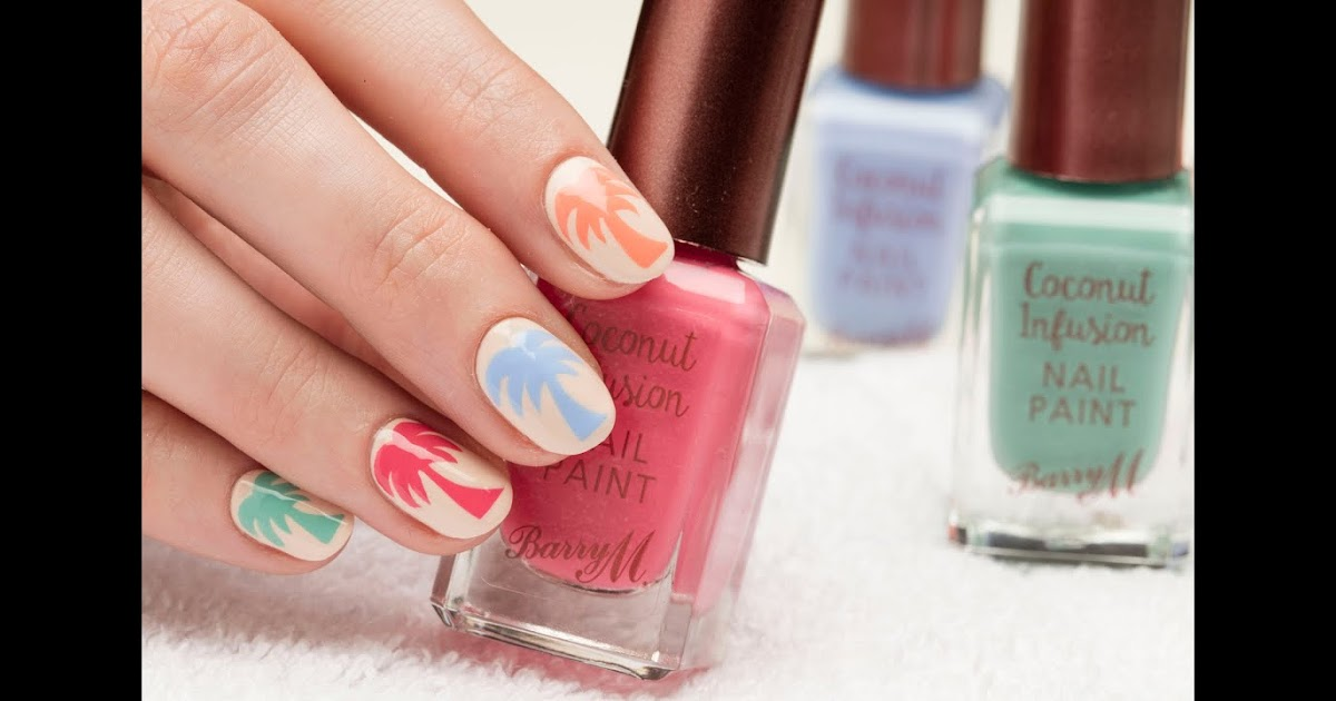 Barry M Summer Palm Trees Nail