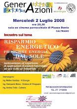risparmio energetico: produrre energia dal sole