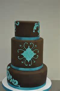 Chocolate & Turquoise Cake   Urban Sweets