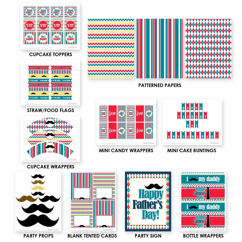 Hermosa Páginas Para Colorear De Cumpleaños Imprimibles Para Papá ...