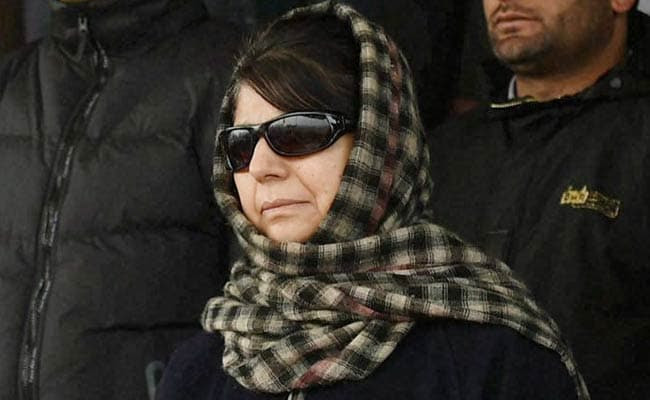 Not Afraid Of Criticism Of Going Ahead With BJP: Mehbooba Mufti