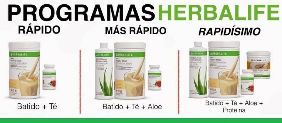 herbalife como tomarlo para bajar de peso