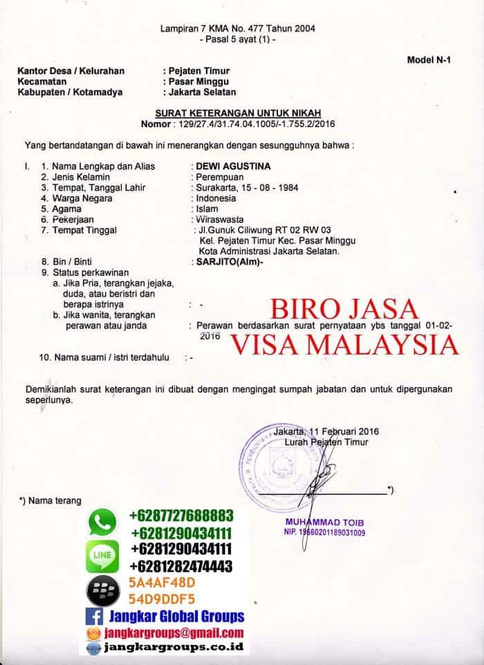 persyaratan menikah sesama muslim di malaysia jangkar
