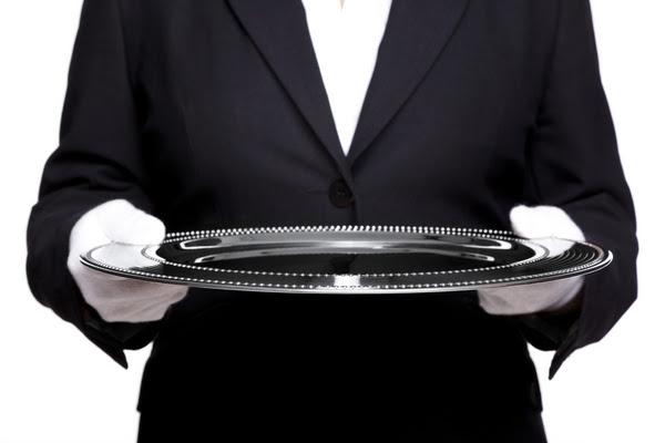 Image result for silver platter