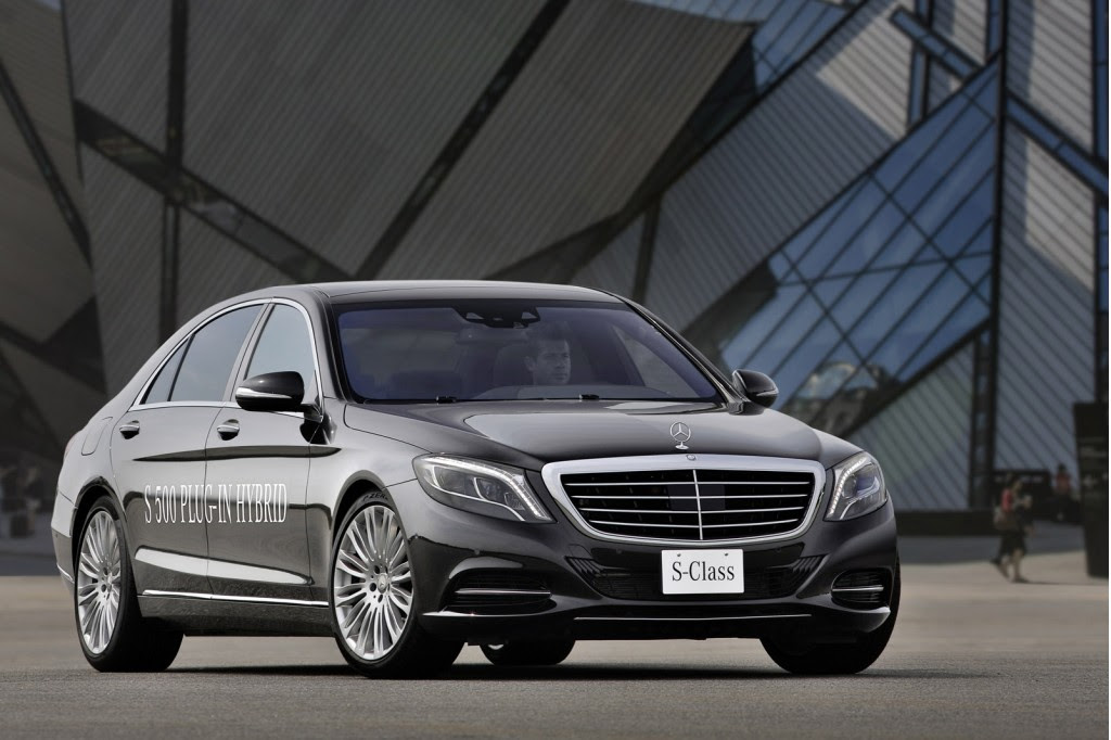 Mercedes-Benz S500 Plug-In Hybrid: 0-60 In 5.5 Seconds And ...