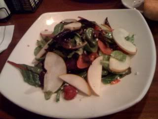 Claim Jumper Asian Pear Appetizer Salad