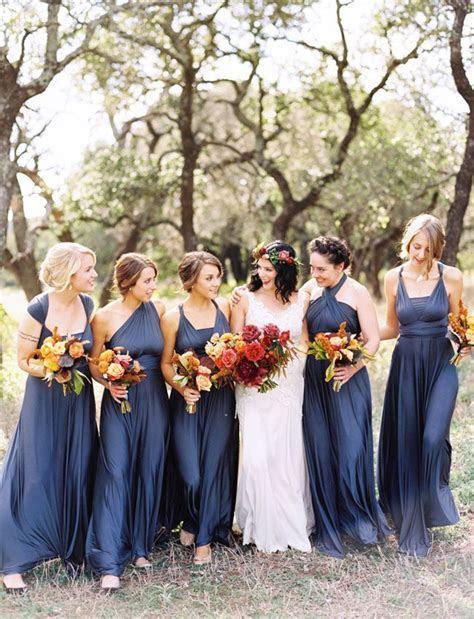 Best 25  Mismatched navy bridesmaids ideas on Pinterest