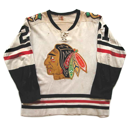 Chicago Black Hawks 1959-60 jersey photo  ChicagoBlackHawks1959-60Fjersey.jpg.png