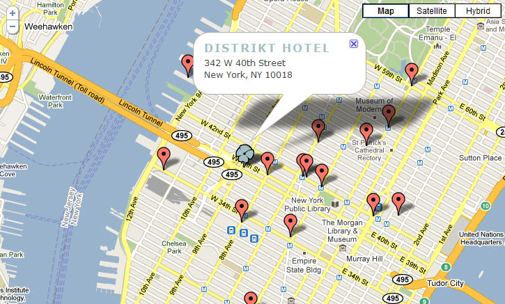 Distrikt Hotel Shiny New Accommodations In The Heart Of