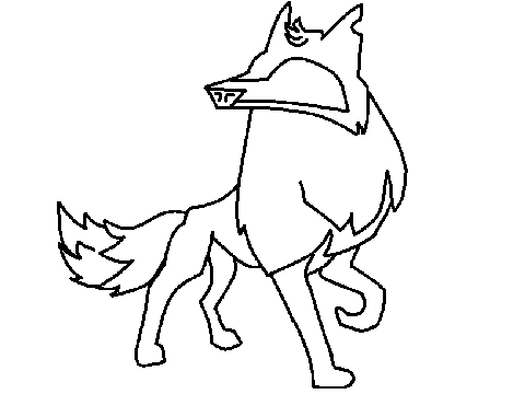 Animal Jam Wolf Drawing at GetDrawings | Free download
